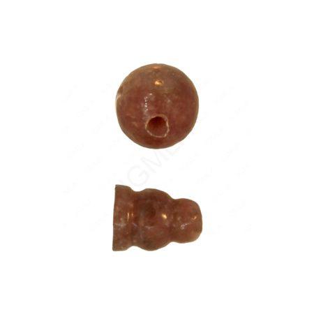 Africa Lepidolite 3 Hole (1) & Guru (1)