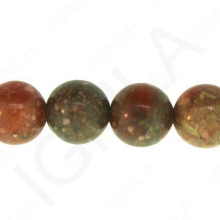 12mm Autumn Jasper Natural Round Beads Beads