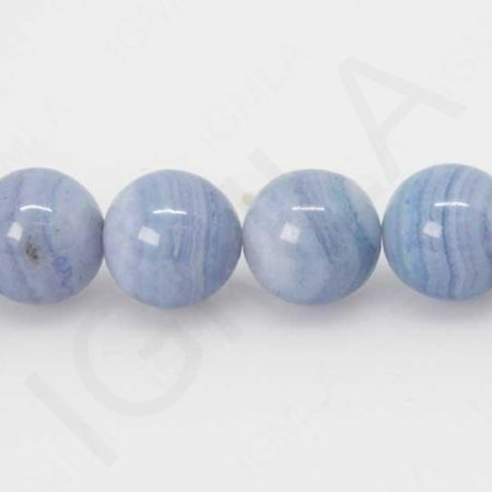 12mm Blue Lace Agate Natural Round Beads Beads