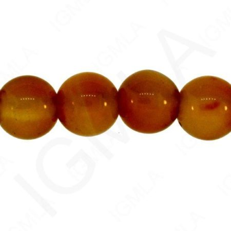 12mm Carnelian Agate Natural Round Beads Beads
