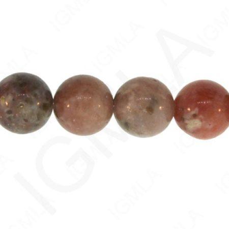 12mm Chili Jasper Natural Round Beads Beads