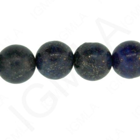 12mm Dyed Lapis Dyed Round Beads Beads