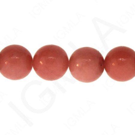 Dyed Serpentine-Pink Round