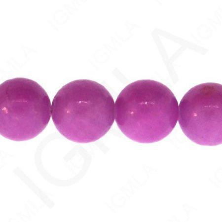 Dyed Serpentine-Purple Round