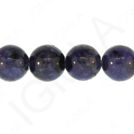 12mm Lapis Jasper Dyed Round Beads Beads