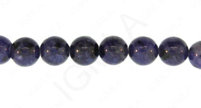 12mm Lapis Jasper Dyed Round Beads Beads