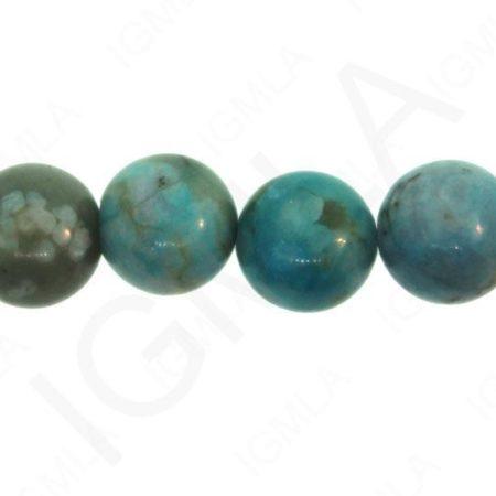 Turquoise Jasper Dyed Round