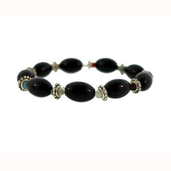 Black Agate Melon Bracelets
