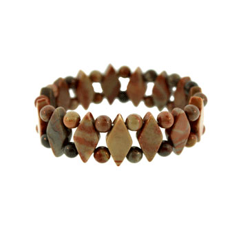 Fossil Jasper Princess Bracelets