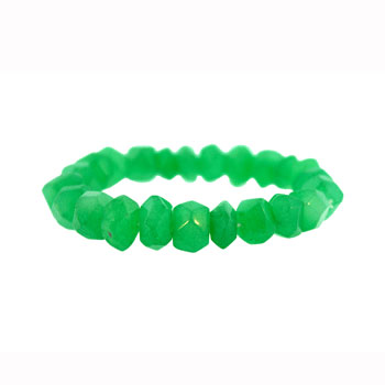 10mm Dyed Green Aventurine Mix Drum Jewelry