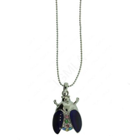 Zinc Alloy Bee Necklaces
