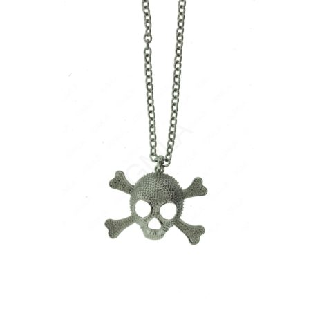 Zinc Alloy SKULL Necklaces