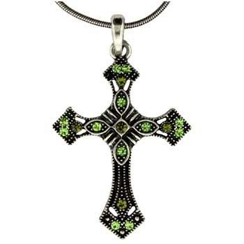 Zinc Alloy Cross Necklaces