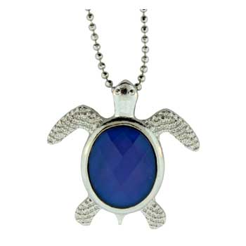Zinc Alloy Turtle Necklaces