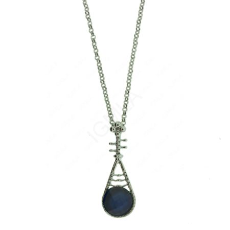 Zinc Alloy Musical Note Necklaces