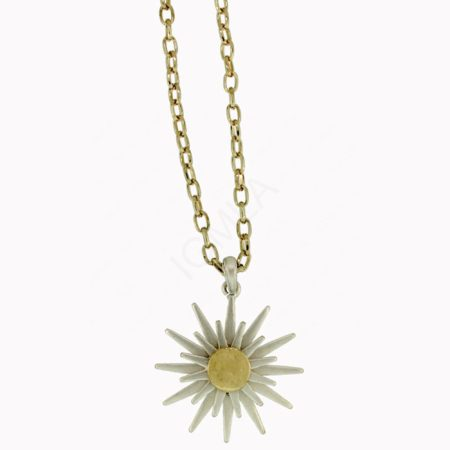 Zinc Alloy Sun Necklaces