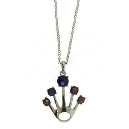 Zinc Alloy Hand Necklaces