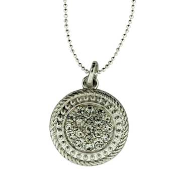 Zinc Alloy Round Necklaces