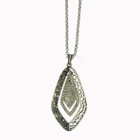 Zinc Alloy Drop Necklaces