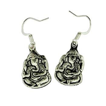 Zinc Alloy Ganesh Earrings