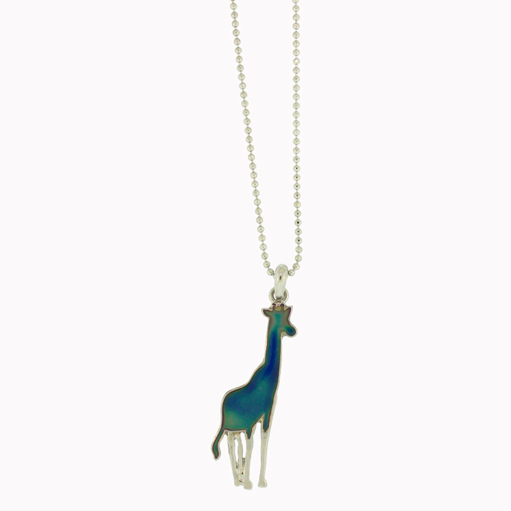 products b jewelry edit spoon silver giraffe necklace