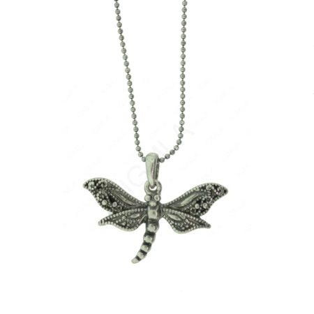 Zinc Alloy Dragonfly Necklaces