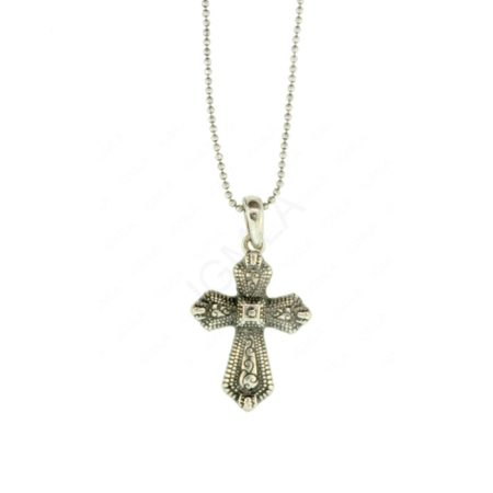 N Sox Metal Cross Necklace Jewelry