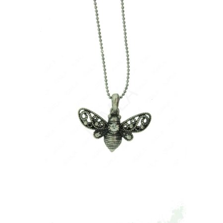 Zinc Alloy Bee Necklaces