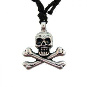 Zinc Alloy Burnished Silver Finish Necklace