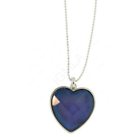Zinc Alloy Heart Necklaces