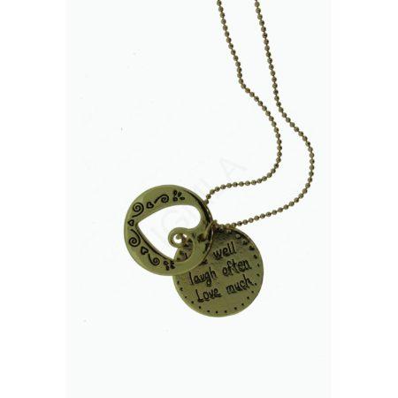 Zinc Alloy Coin Necklaces