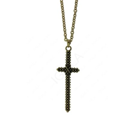 Zinc Alloy Cross Necklaces