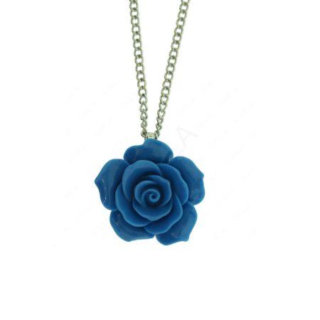 Zinc Alloy Rose Necklaces
