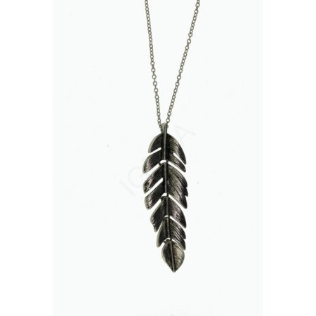 "2.25"" Swinging Feather Pendants On 18"" Chain Jewelry"