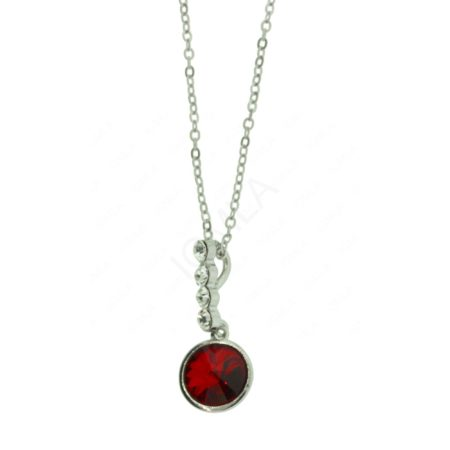 Zinc Alloy Stone Necklaces
