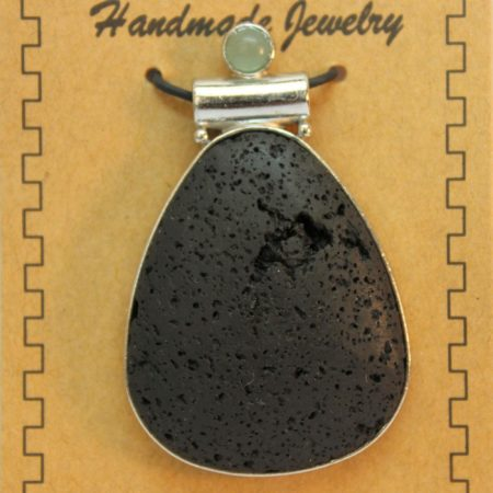 32X49mm Drop Lava Pendant Jewelry