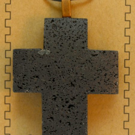 Lava Cross Pendants