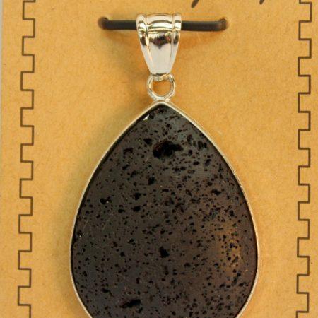 Lava Pear Shape Pendants