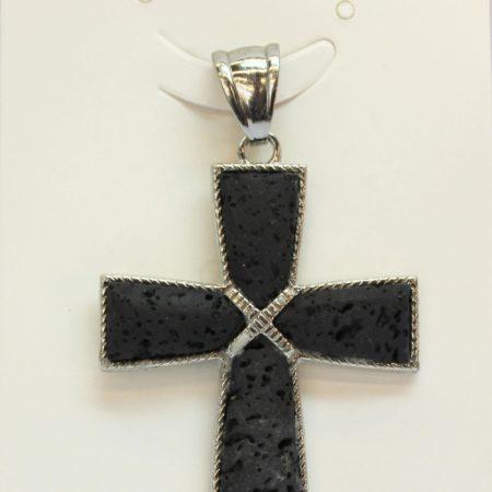 Lava 4 Pcs Taper Cross Pendants