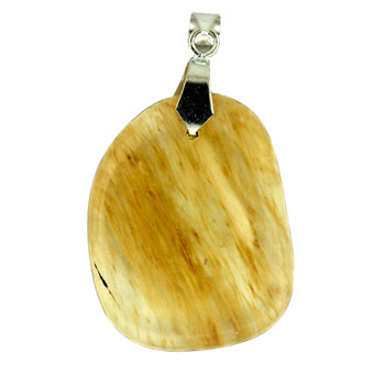 Rutilated Quartz Glass Freeform Pendants