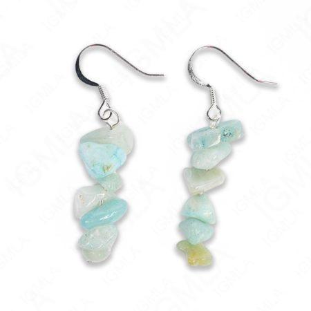Amazonite Chips Earrings