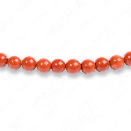 4mm Red Jasper Round Beads