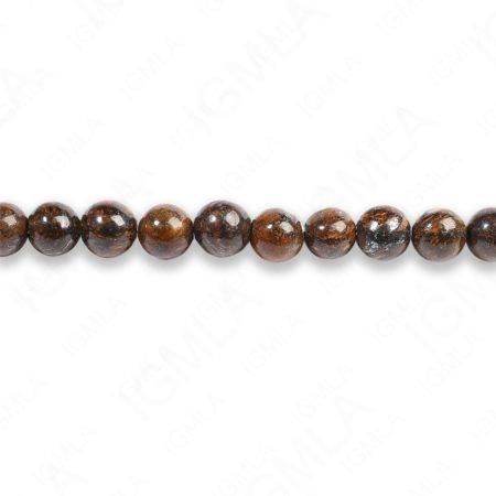 4mm Bronzite Round Beads