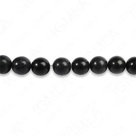 8mm Black Jasper Round Beads