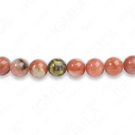 8mm Chilli Jasper Round Beads