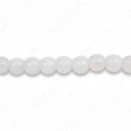 8mm Opalite Round Beads