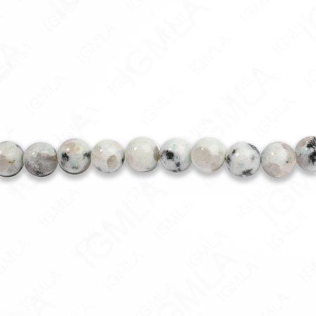 8mm Sesame Jasper Round Beads
