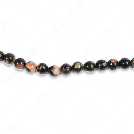 8mm Plum Blossom Jasper Round Beads
