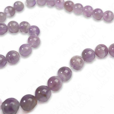 8mm Amethyst Round Beads