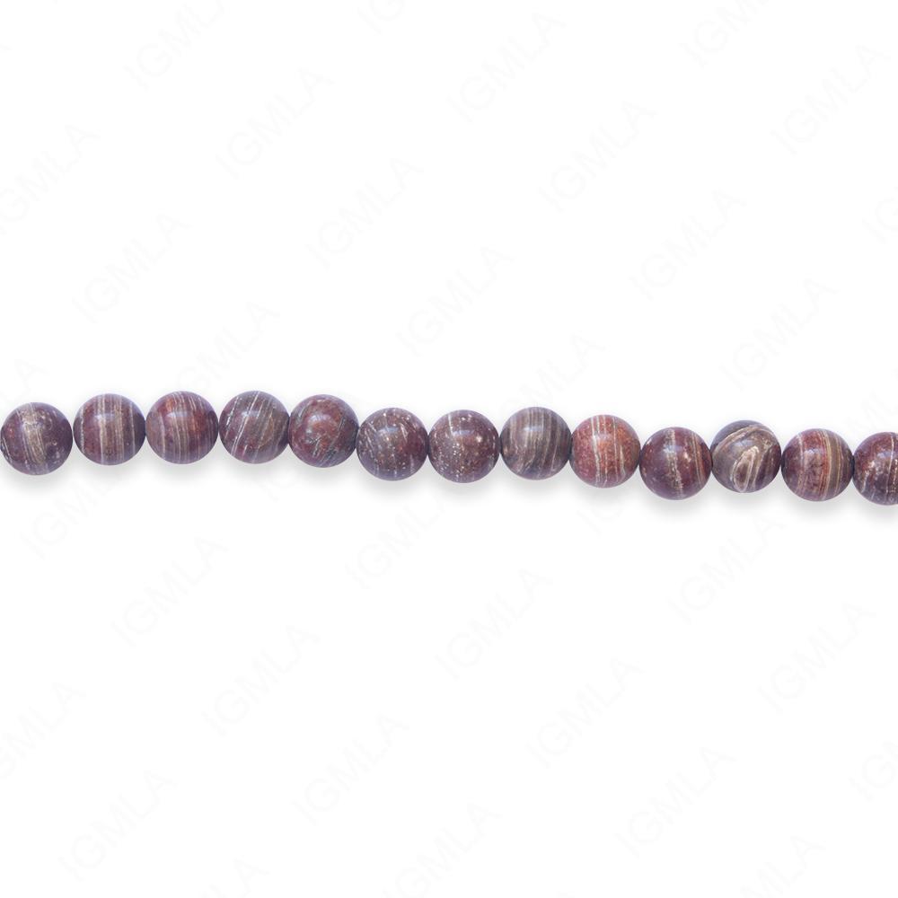 16″ 6mm Surreal Jasper Round Beads